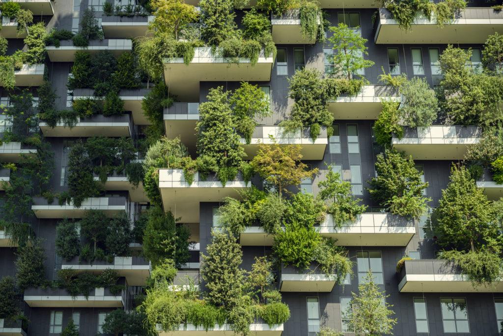 Mur végétal - facade végétalisée - Milan