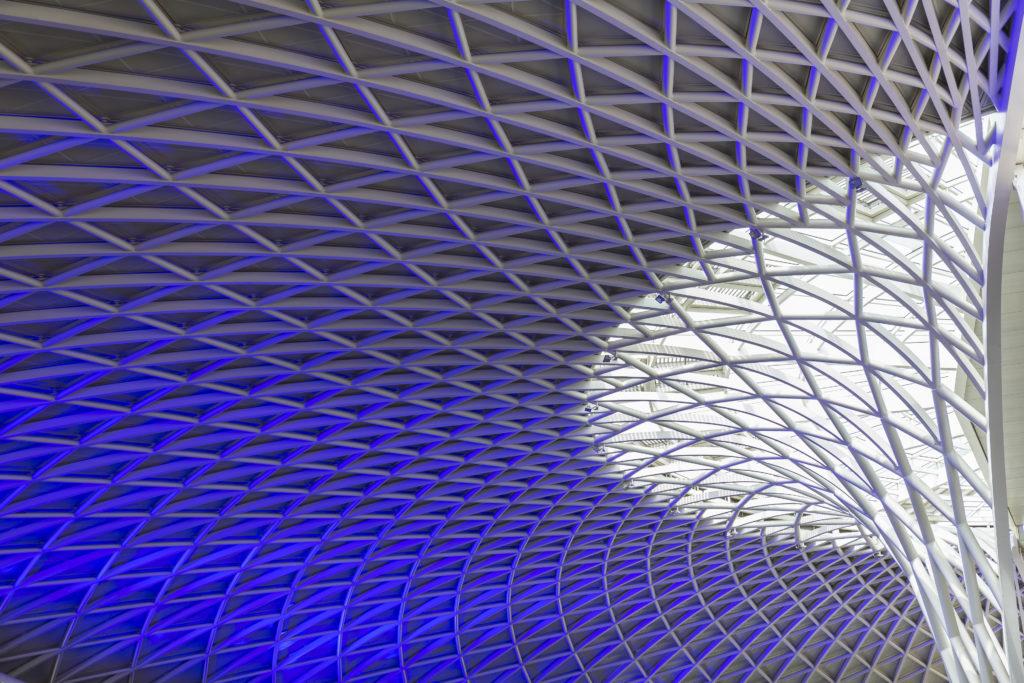toiture futuriste - batiment Londres